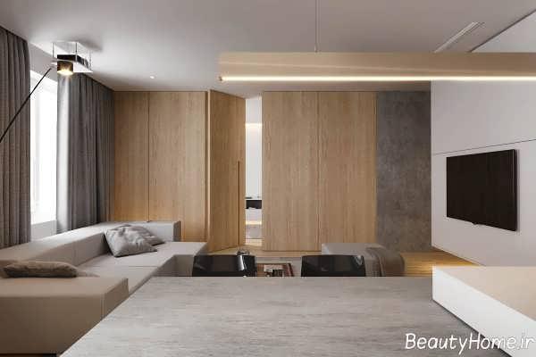 طراحی دکوراسیون خانه آپارتمانی