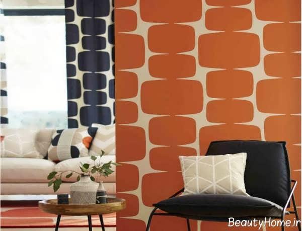 استفاده از رنگ نارنجی در دکوراسیون منزل