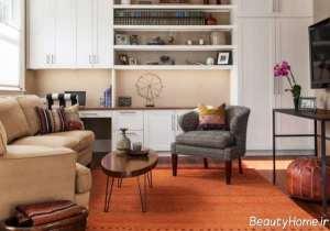 رنگ نارنجی در دکوراسیون منزل