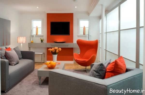 دکوراسیون داخلی نارنجی