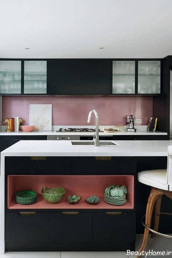 دکوراسیون داخلی آشپزخانه کوچک آپارتمانی