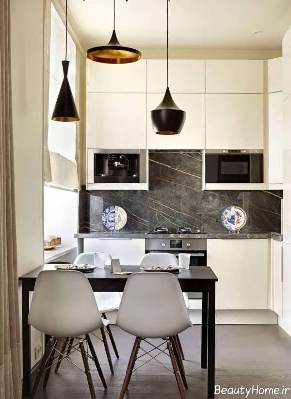 انواع طراحی آشپزخانه کوچک آپارتمانی