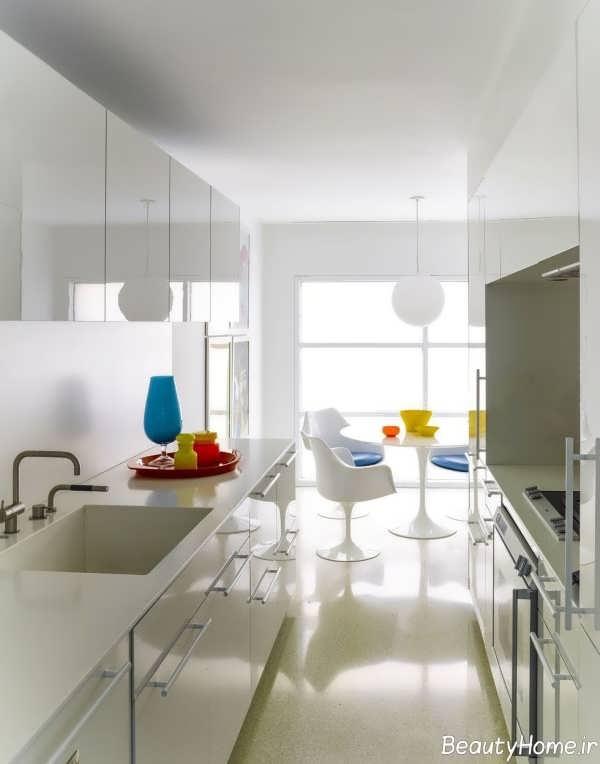 آشپزخانه های کوچک و مدرن آپارتمانی