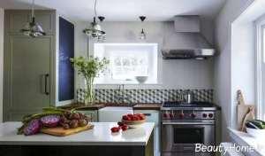 جدیدترین آشپزخانه های کوچک آپارتمانی