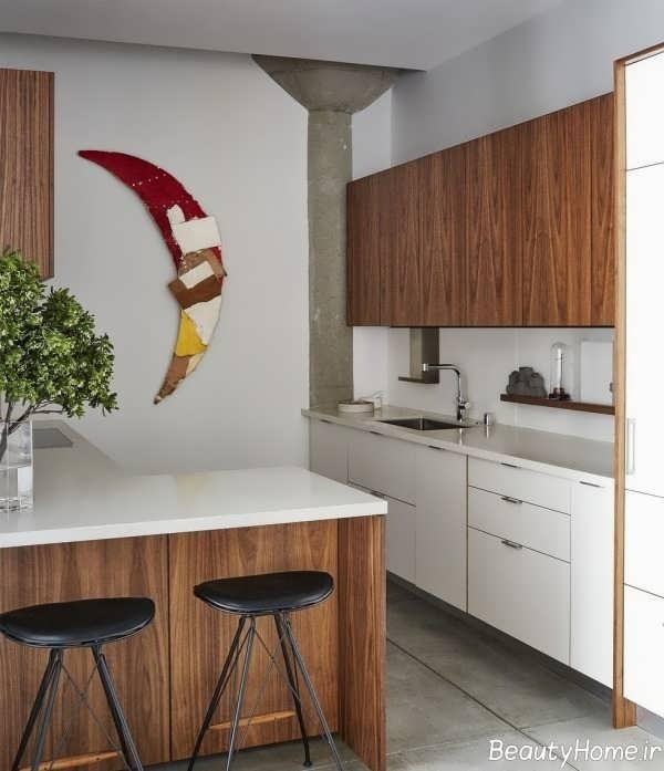 آشپزخانه های کوچک و شیک آپارتمانی