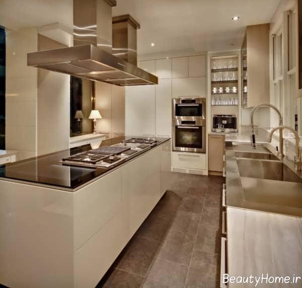 آشپزخانه کوچک آپارتمانی ایزانی