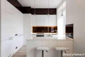 مدل خلاقانه آشپزخانه کوچک آپارتمانی