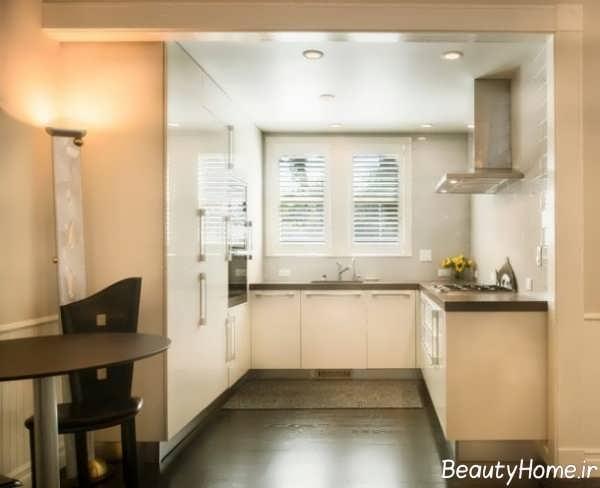 آشپزخانه های مینیمالیستی و کوچک آپارتمانی