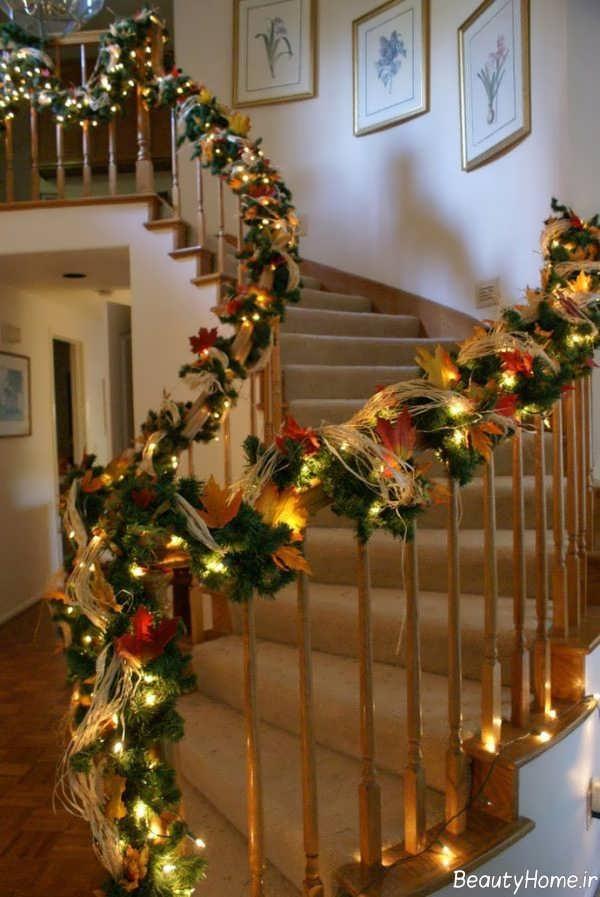 تزیین کردن راه پله با روش های زیبا و ساده