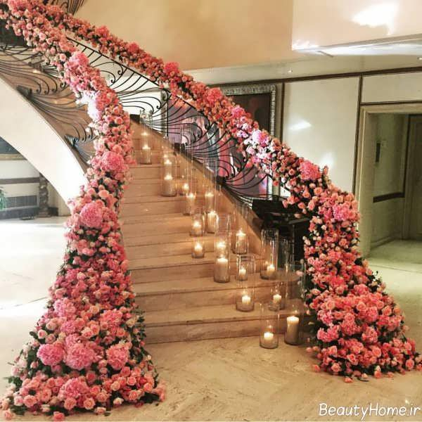 تزیین خلاقانه و زیبا راه پله