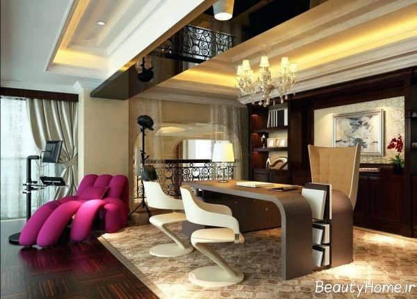 طراحی داخلی زیبا و مدرن اداری