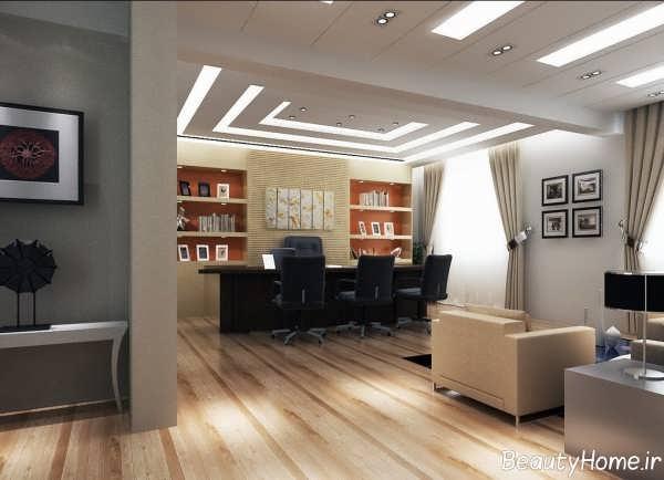 طراحی داخلی زیبا و شیک اداری