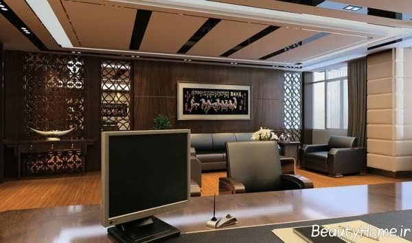 طراحی زیبا و مدرن اداری