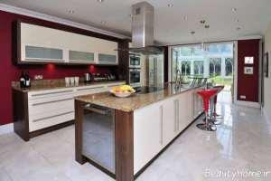 مدل کابینت برای آشپزخانه بزرگ