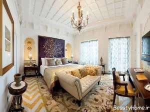طراحی داخلی اتاق خواب کلاسیک
