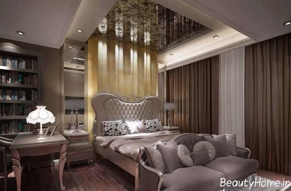 طراحی دکوراسیون اتاق خواب شیک و کلاسیک