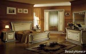 دکوراسیون لوکس و شیک اتاق خواب