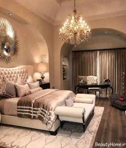 دکوراسیون کلاسیک و زیبا اتاق خواب
