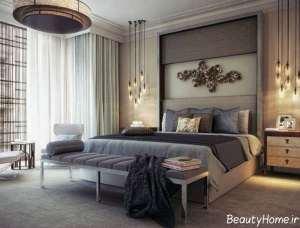 دکوراسیون لوکس و زیبا اتاق خواب