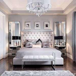 دکوراسیون داخلی اتاق خواب سلطنتی
