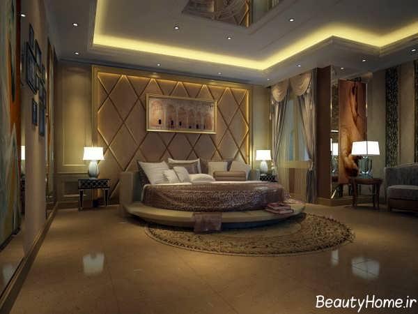 دکوراسیون زیبا و کلاسیک اتاق خواب