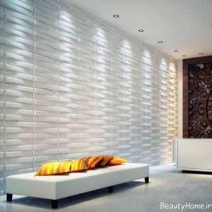 مدل کاغذ دیواری زیبا برای اتاق پذیرایی