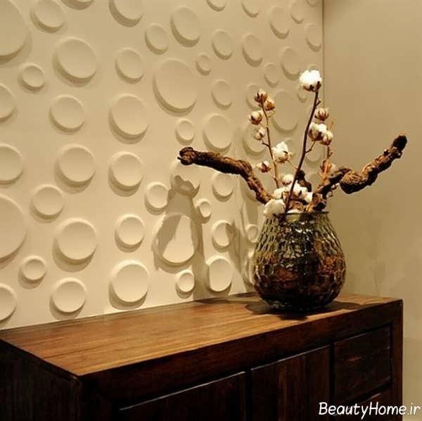 کاغذ دیواری های سه بعدی مدرن