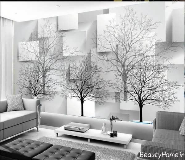 مدل کاغذ دیواری های سه بعدی