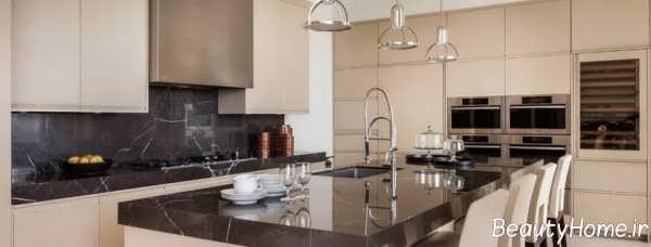 مدل کابینت مدرن و شیک برای آشپزخانه