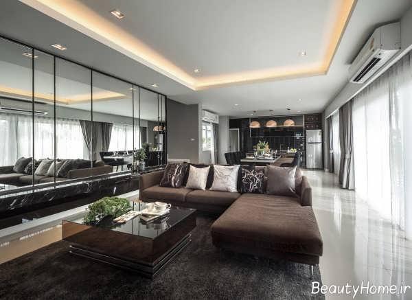 دکوراسیون زیبا و شیک خانه ویلایی