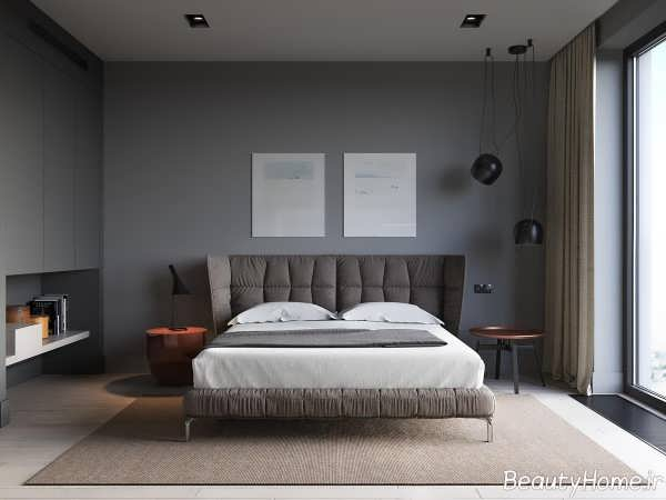 طراحی داخلی اتاق خواب دو نفره