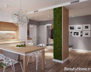 دکوراسیون عالی نمای داخلی آپارتمان