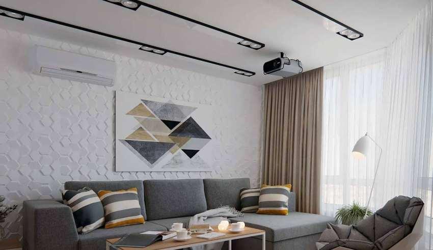 نمای داخلی آپارتمان کوچک