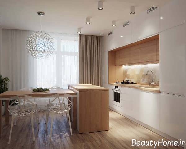 دکوراسیون مدرن فضای داخلی آپارتمان
