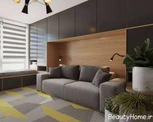 طراحی عالی فضای داخلی آپارتمان