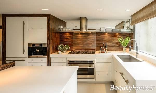 چیدمان زیبا آشپزخانه