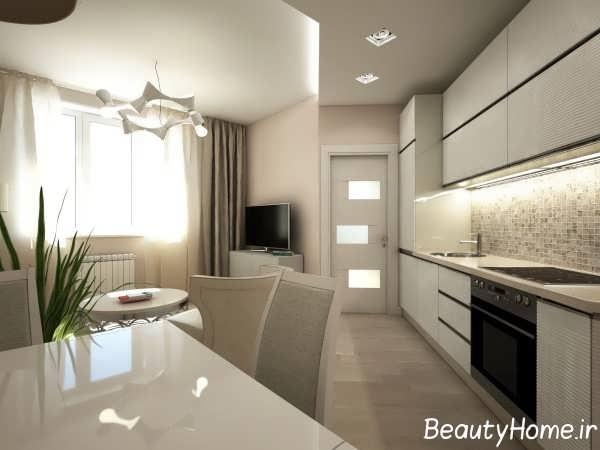 طراحی شیک و مدرن آشپزخانه