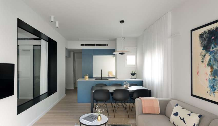 واحد آپارتمانی مدرن و شیک