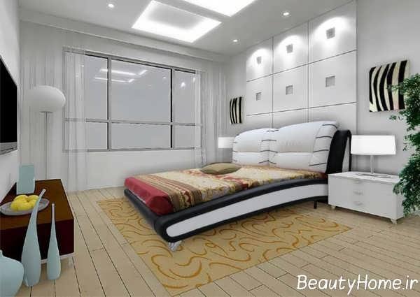طرح شیک تخت خواب مدرن