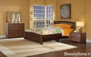 طرح مدرن تخت خواب دو نفره