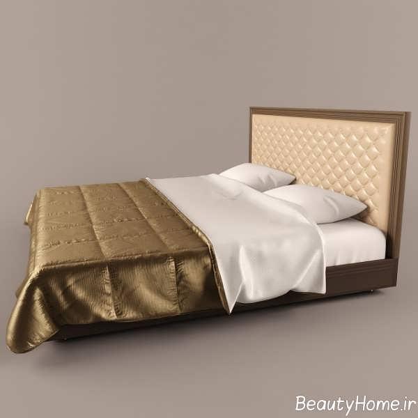 مدل ساده تخت خواب دو نفره