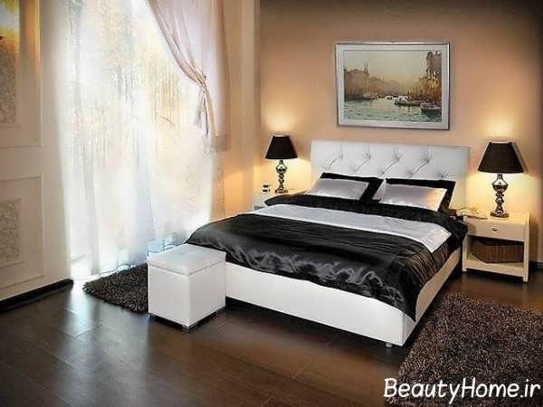مدل تخت خواب دو نفره شیک و مدرن