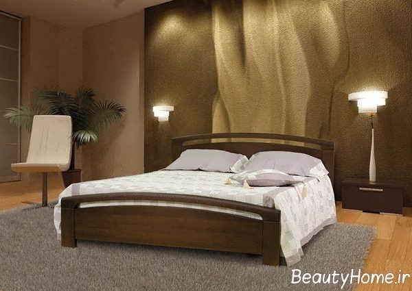 مدل تخت خواب دو نفره به سبک سنتی