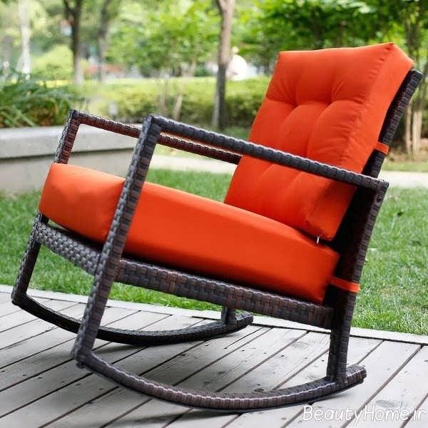 مدل صندلی روکش دار فضای باز