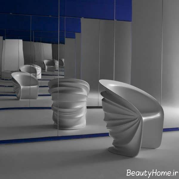 مدل صندلی صدفی فضای باز
