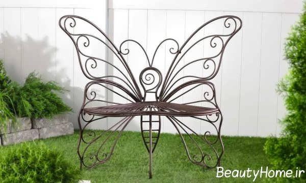مدل صندلی پروانه ای فضای باز