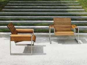 مدل صندلی چوبی فضای باز