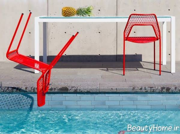 مدل صندلی سبک فضای باز