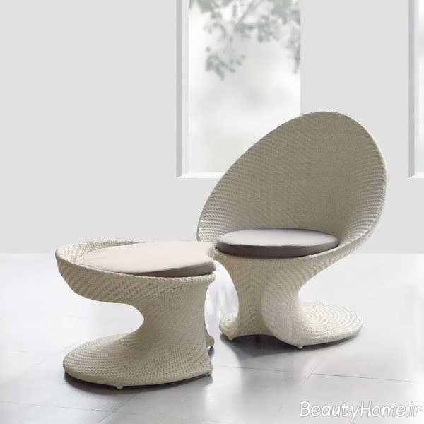 مدل صندلی مدرن فضای باز