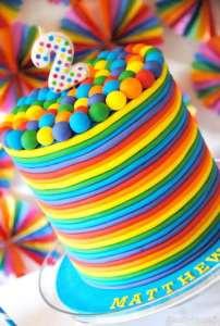 تزیین خلاقانه و شیک کیک تولد